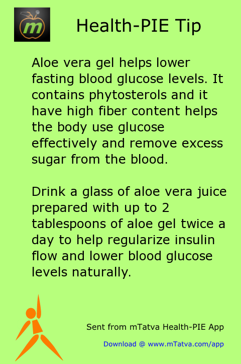 aloe vera,sugar,fiber,diabetes,insulin