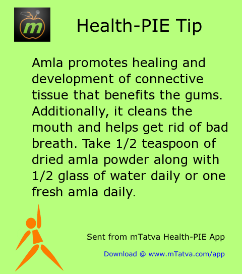 dental care,home remedy,amla,gum care
