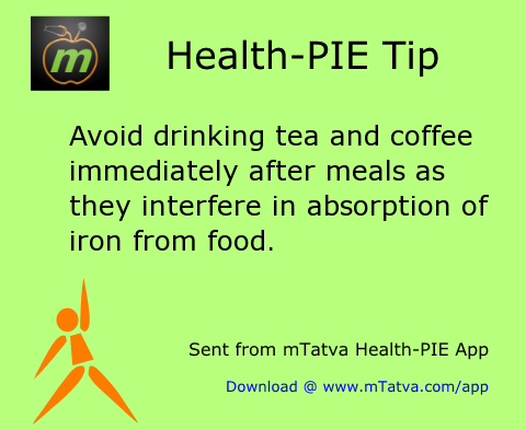 digestion and constipation,tea,iron