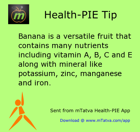 healthy food habits,banana,vitamin foods,minerals in food,iron,vitamin A,vitamin E,vitamin B,potassium