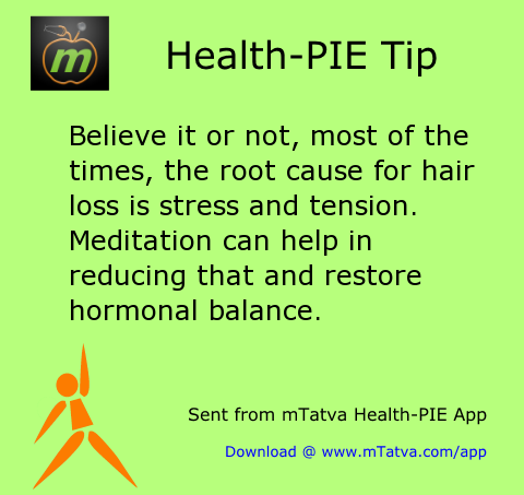 hair care,stress management