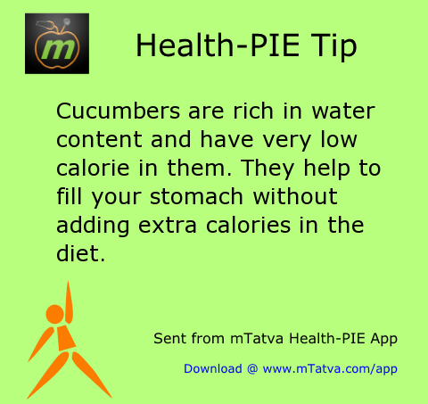 hydration,weight loss,cucumber