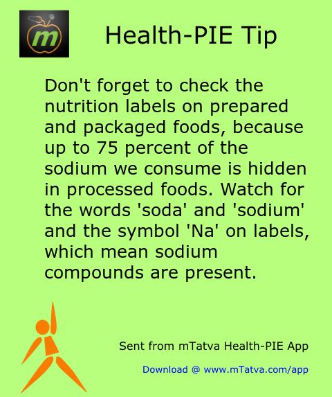 salt and blood pressure,healthy food habits,processed food