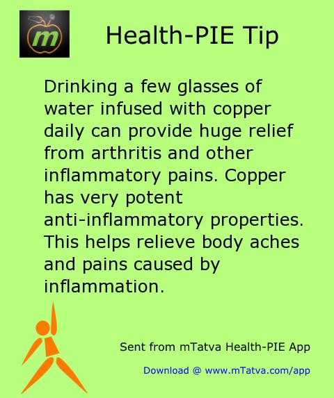 Drinking Lots Of Water Helps Arthritis