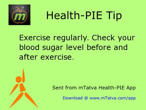 exercise,sugar