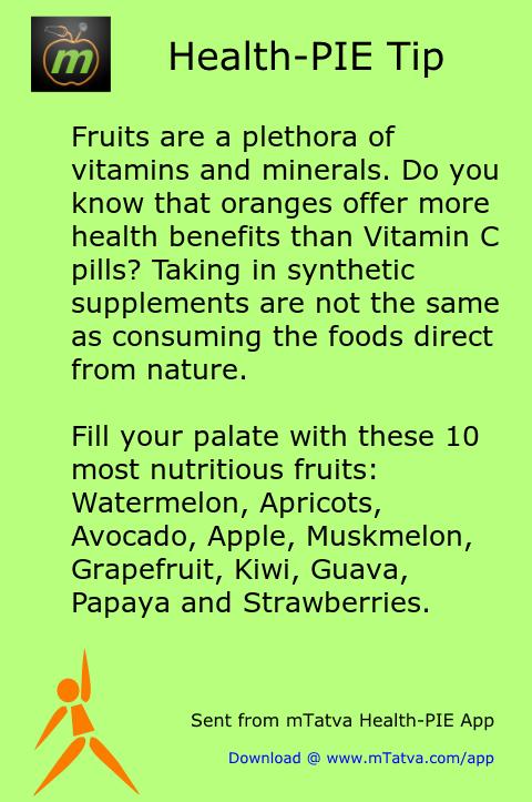 apple,oranges,vitamin foods,minerals in food,avocado,papaya,watermelon,vitamin C