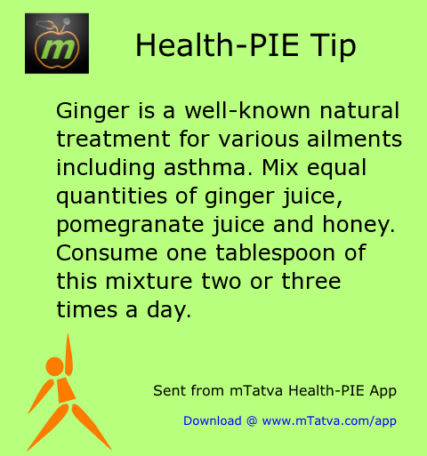 ginger,asthma,honey,home remedy