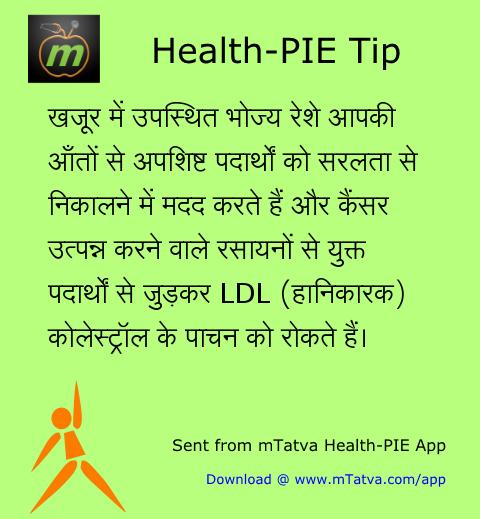 स्वास्थ्यवर्धक आहार, रेशेदार आहार, कोलेस्ट्रॉल, कैंसर