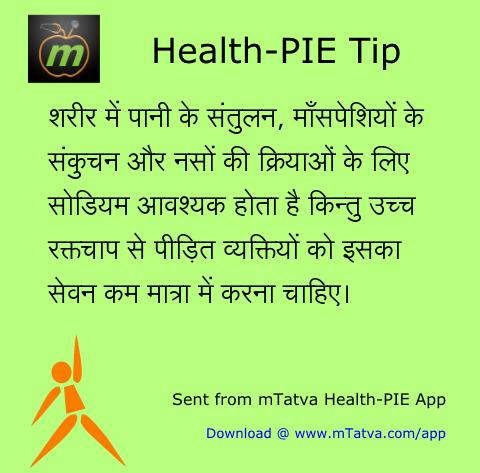 बीपी, स्वास्थ्यवर्धक आहार, नमक और बीपी