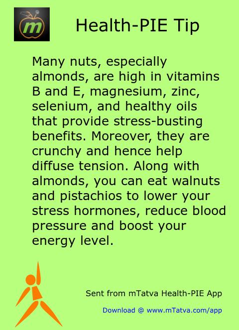 dry fruits,stress management,vitamin E,vitamin B