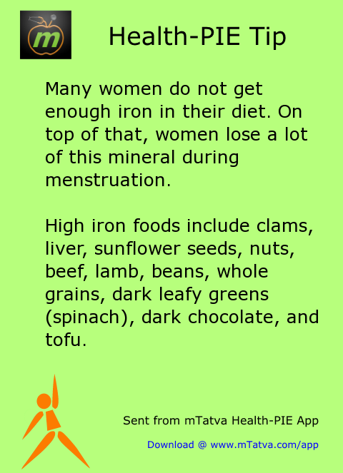 ladies health,iron,healthy food habits,spinach,green vegetables,liver