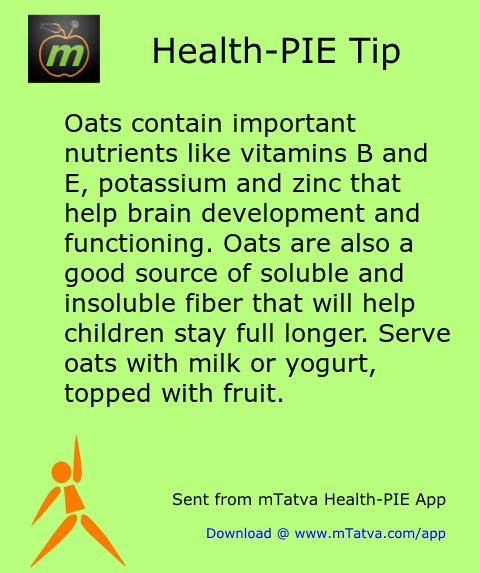 vitamin foods,minerals in food,fiber,healthy food habits,milk,oats,vitamin E,vitamin B,potassium