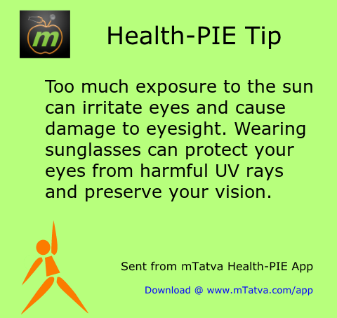 tips for summer,eye protection