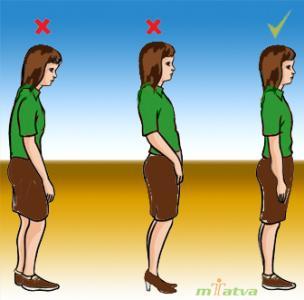 Lumbago Posture