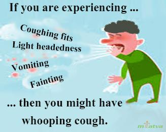 Whooping cough watch out symptoms